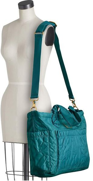Marc By Marc Jacobs Pretty Nylon Elizababy In Blue Deep