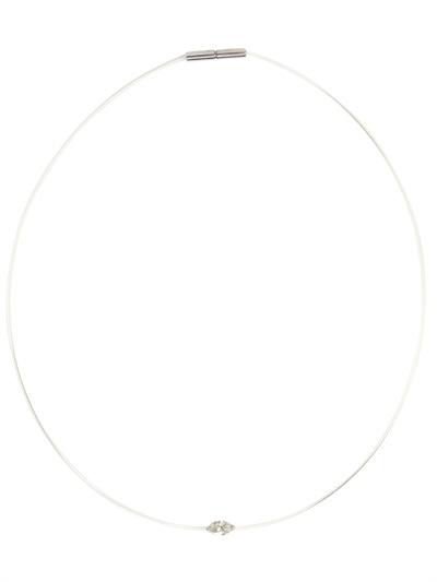 Alexander Fuchs Marquise Necklace in White Diamond (White)