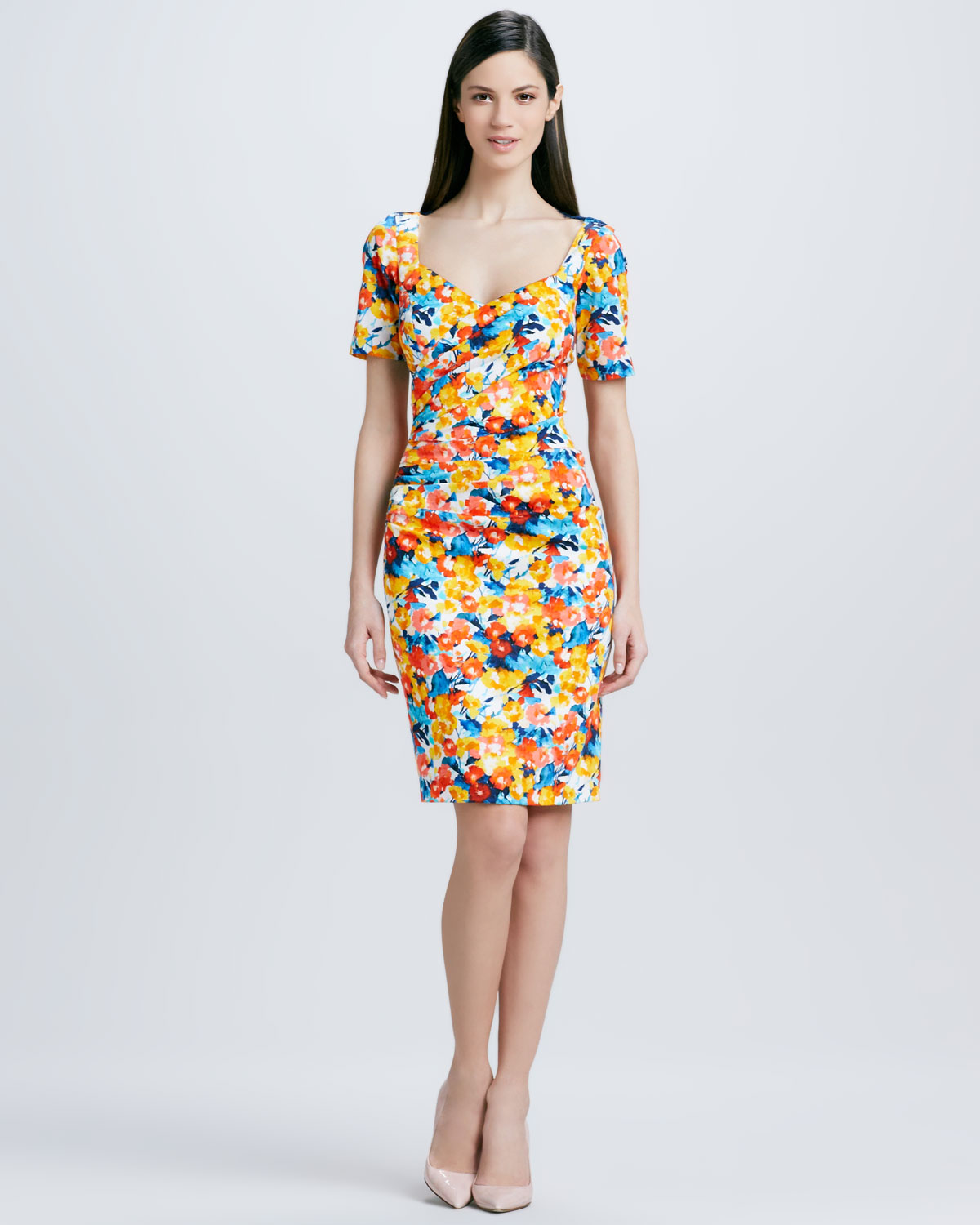 Printed Cocktail Dresses