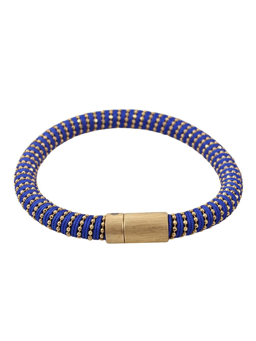 carolina bucci beaded band bracelet in gold