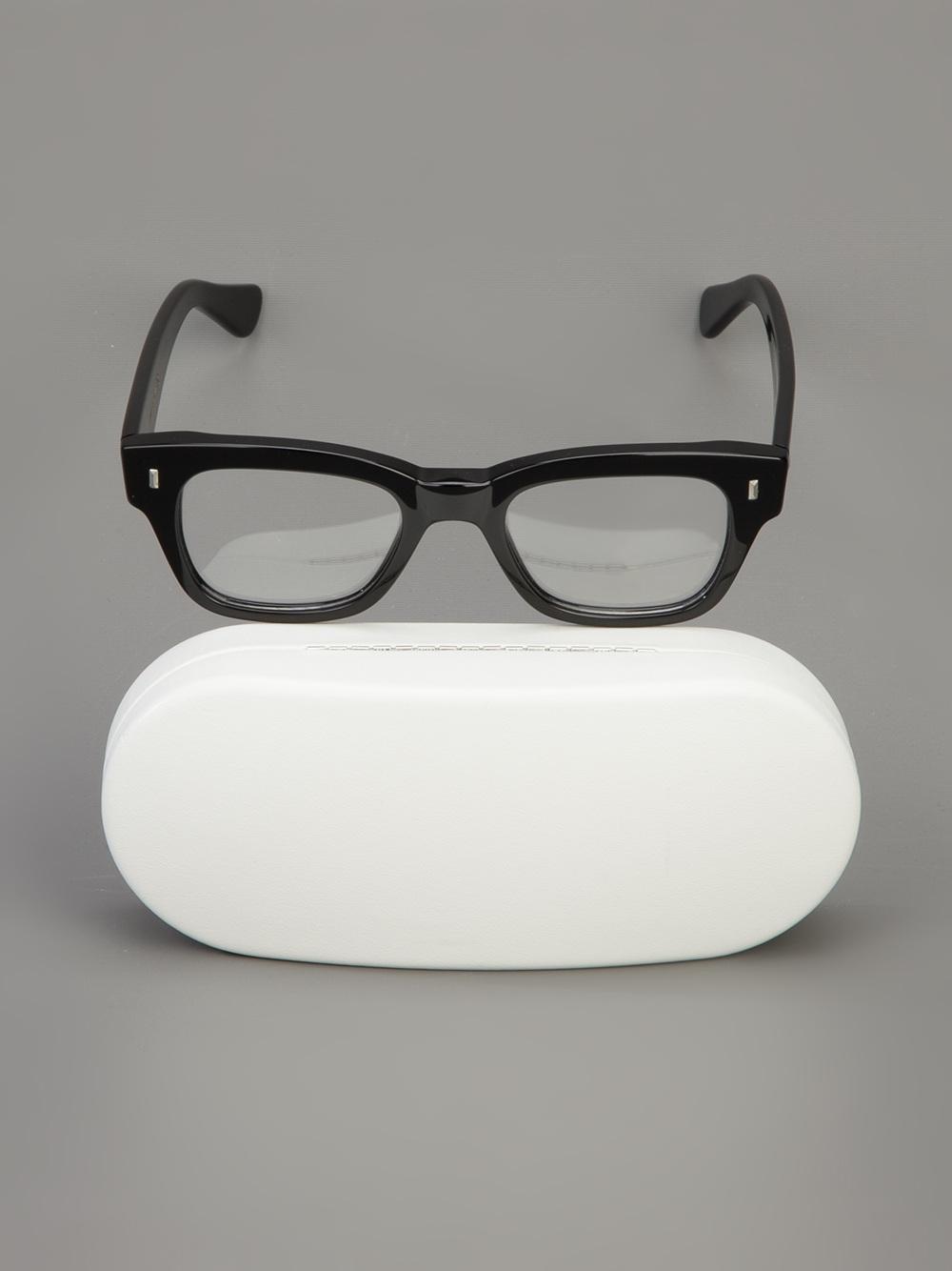 Lyst - Lunettes Kollektion Professor Glasses in Black for Men 45f7e551b4b7