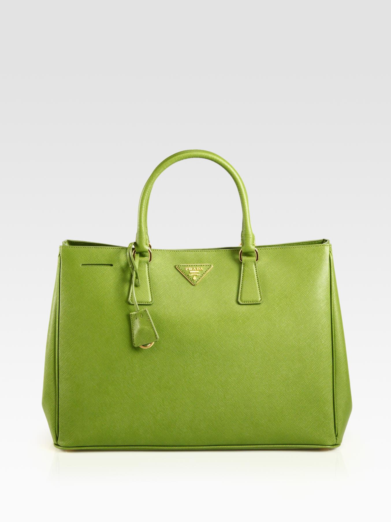 Prada Handbag Green
