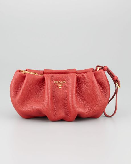 8cab7f13e1f3 Red And Black Prada Clutch Bag | Stanford Center for Opportunity ...
