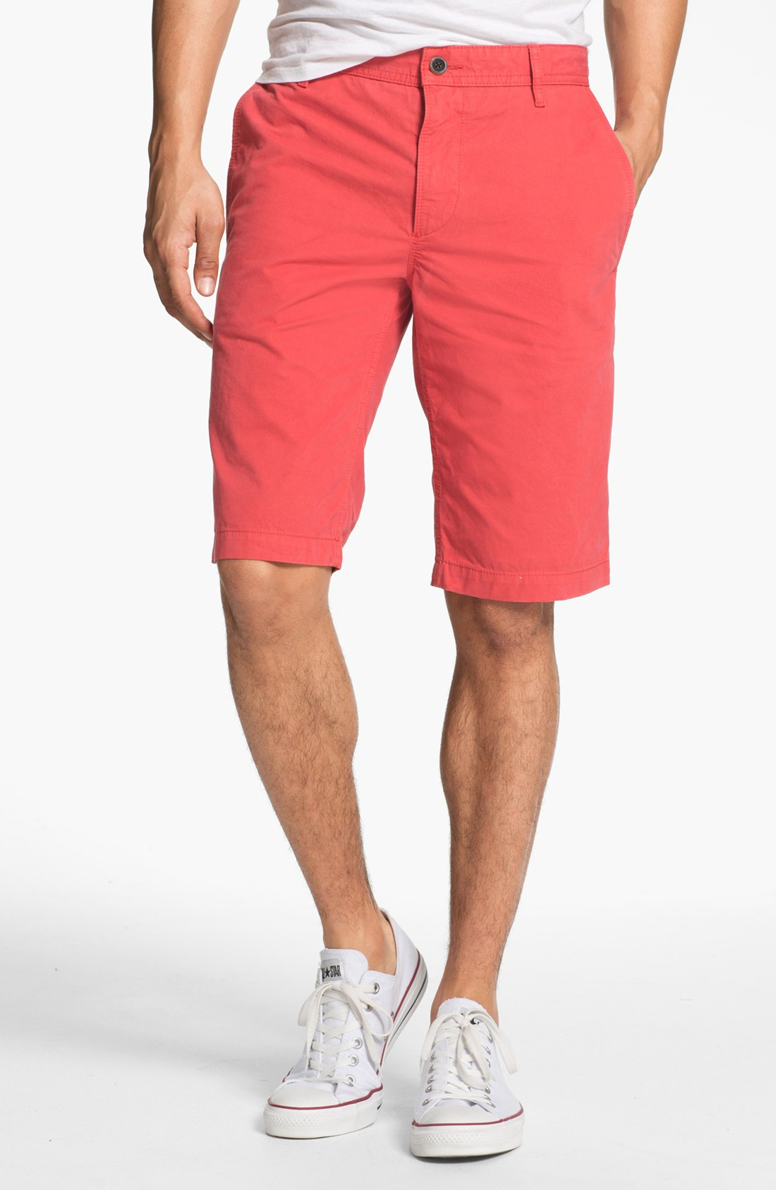 Boss orange Chino Shorts in Red for Men | Lyst