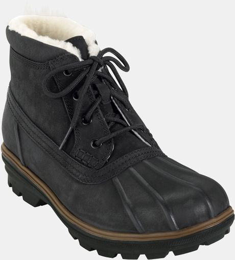 Cole Haan Air Scout Snow Boot in Black for Men (black