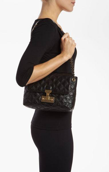 Baroque Xl Single' Leather Shoulder Bag 52