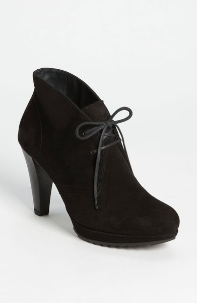 Paul Green New York Bootie in Black - Lyst