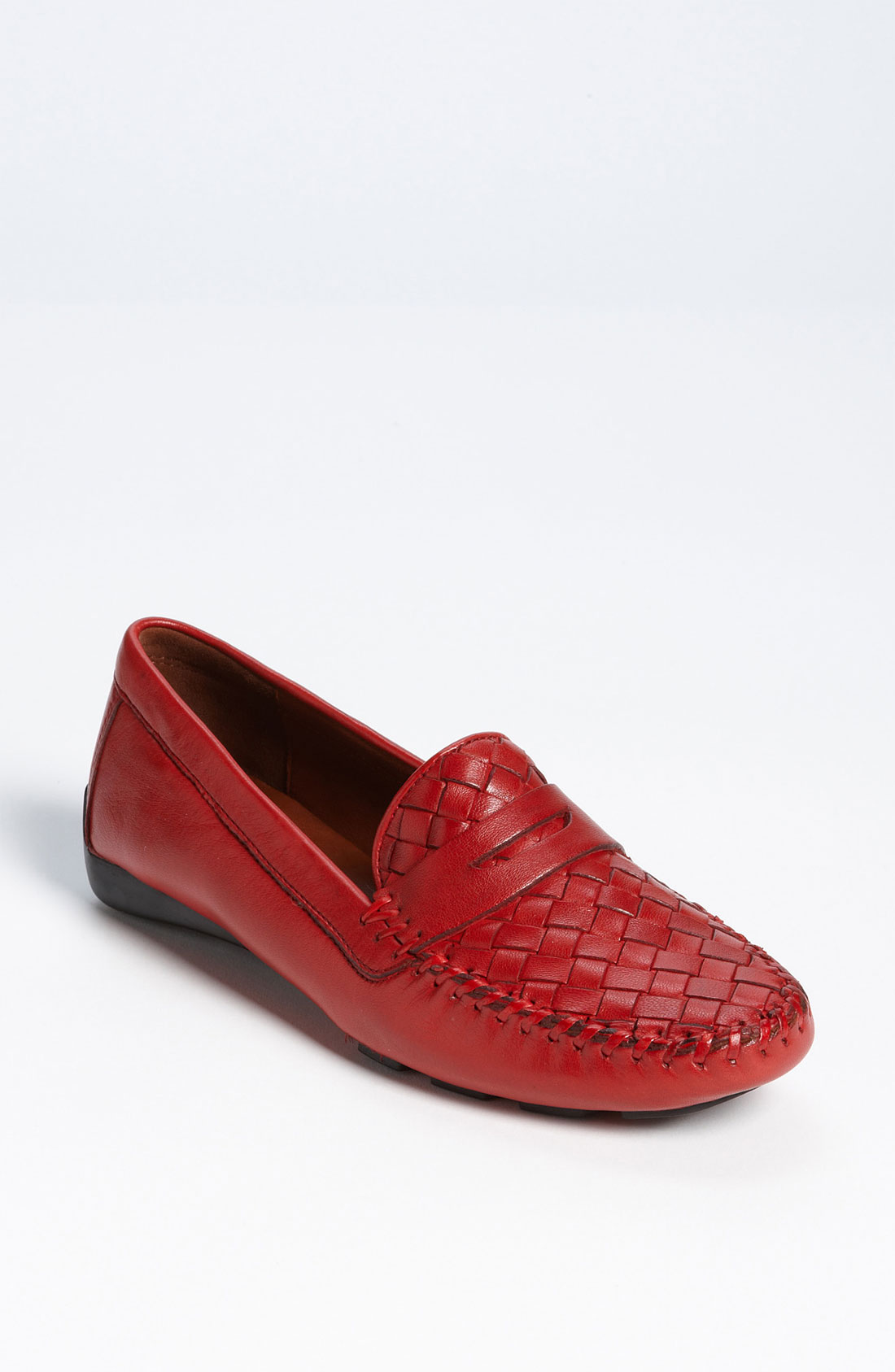 Robert Zur Petra Driving Shoe In Red French Red Lyst