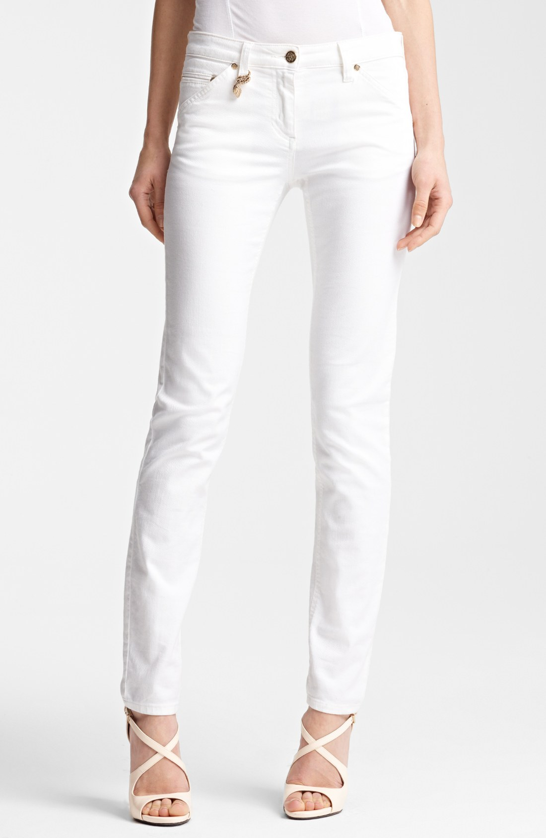 Liverpool Jeans Company Women's Moto-Zip Jean Jacket - White Stretch Denim. Sold by Universal Direct Brands. $ White Mark Plus Size Super Stretch Capri Denim. Miss Halladay Women White Stretch Denim Boyfriend Five Pocket Jean Ankle Length. Sold by Vibes Base Enterprises Inc.