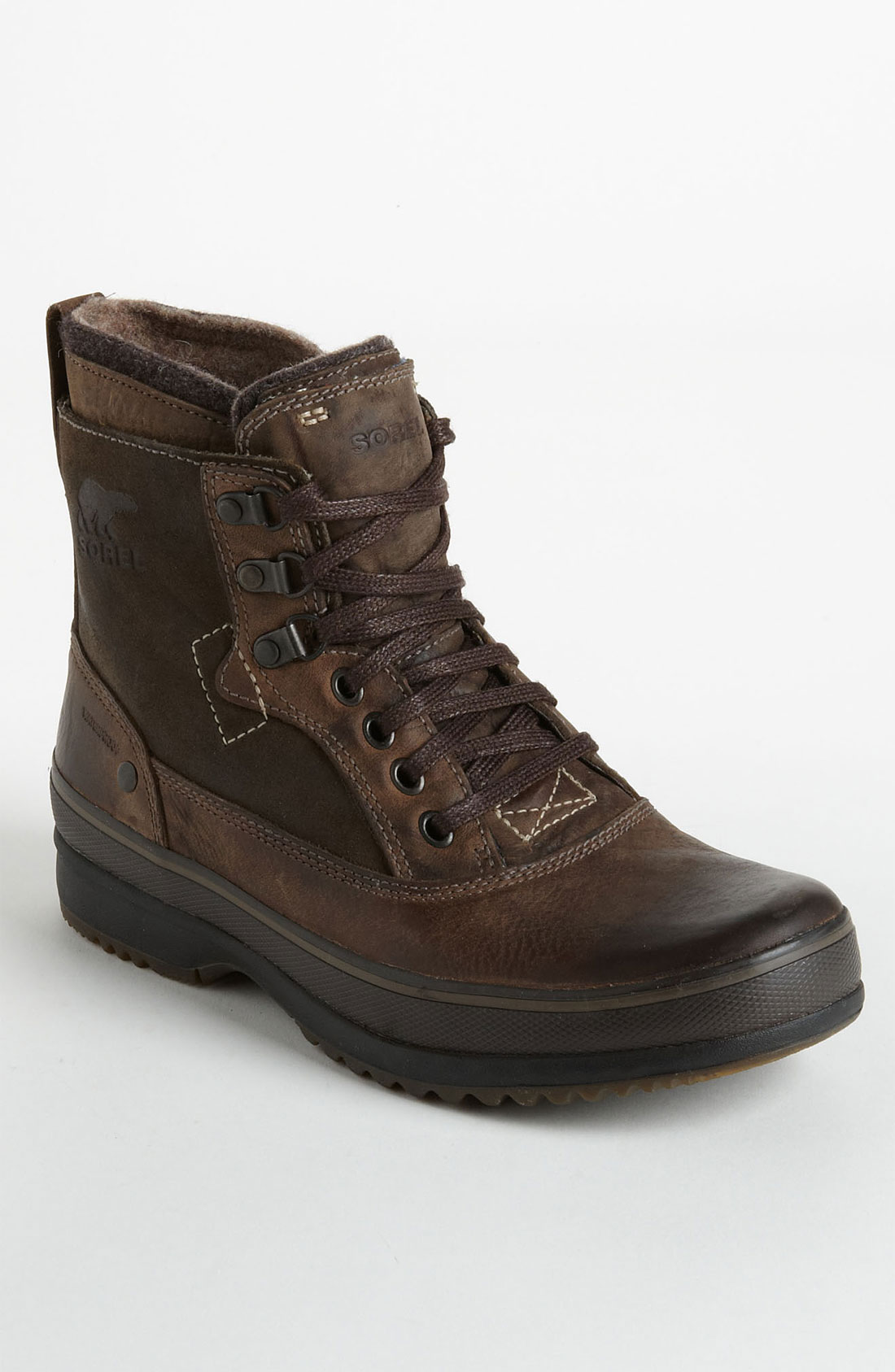 sorel brimley boot in brown for mud lyst