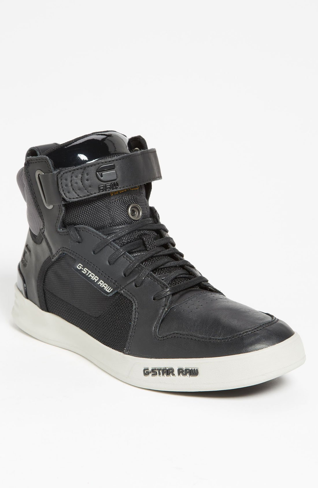 g star raw yard bullion sneaker men in gray for men lyst. Black Bedroom Furniture Sets. Home Design Ideas