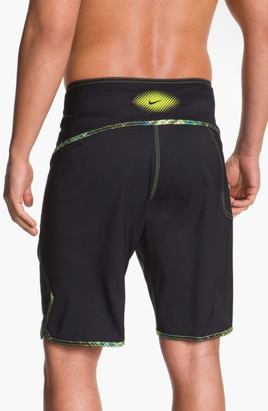 Nike Simple Data Board Shorts in Black for Men (cyber ...