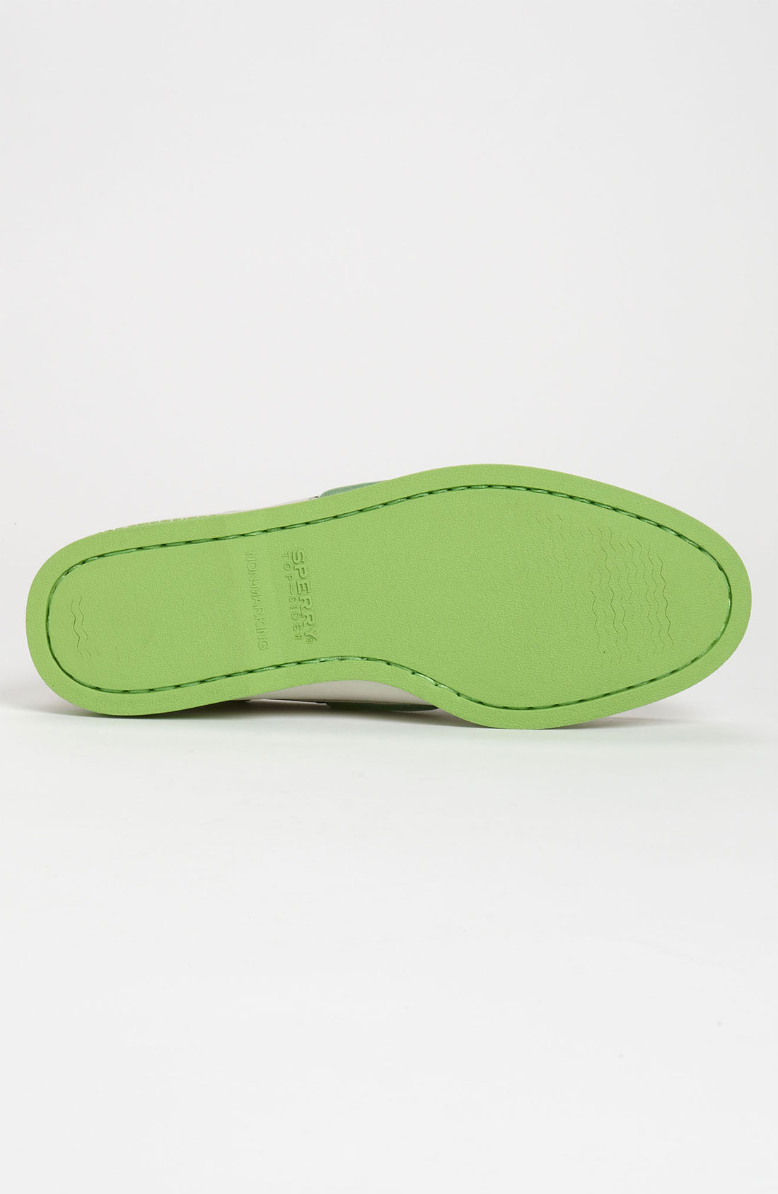 Lime Green Boat Shoes