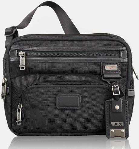 Tumi Alpha Bravo Buckley Ipad Day Bag in Black for Men