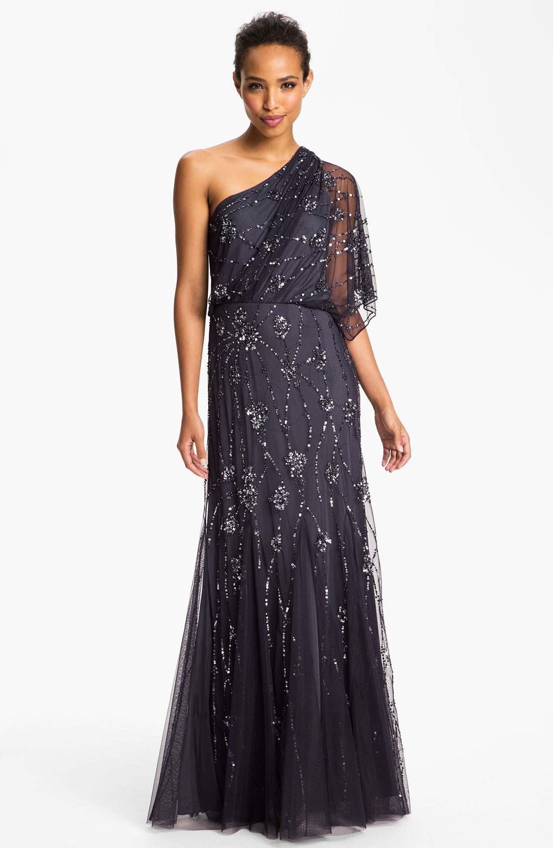 Soulmates - Beaded Embroidered Evening Gown | CoutureCandyOver 14 Years in Fashion· A+ Rated BBB· New Dresses Added Daily.