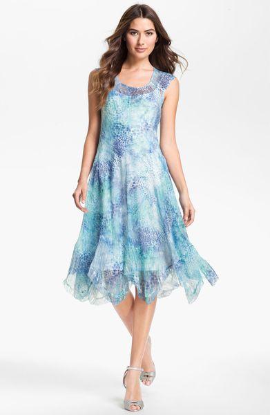 Wonderful American Rag Printed HandkerchiefHem Maxi Dress  I39d Love To Locate