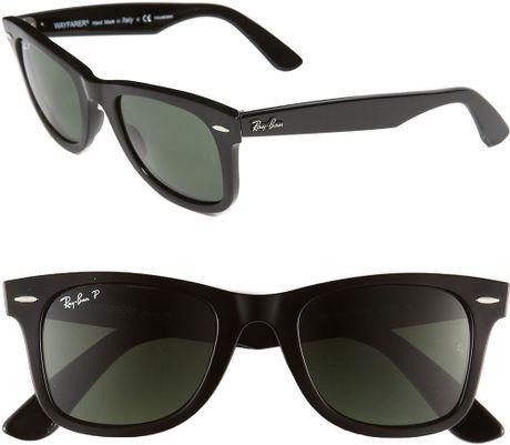 Ray-ban® New Wayfarer Classic Black Unisex Sunglasses  38c4b76c96
