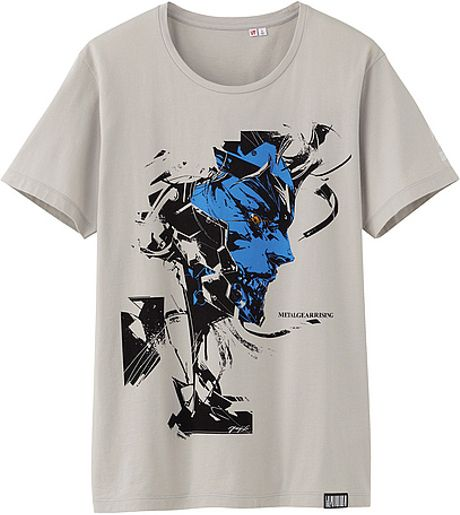 Uniqlo metal gear rising graphic short sleeve t shirt in for Uniqlo t shirt sizing