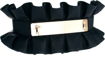 Asos Pleated Plate Waist Belt - Lyst