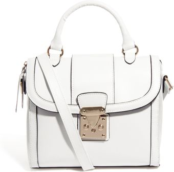 Asos Bag with Chunky Lock and Tophandle - Lyst
