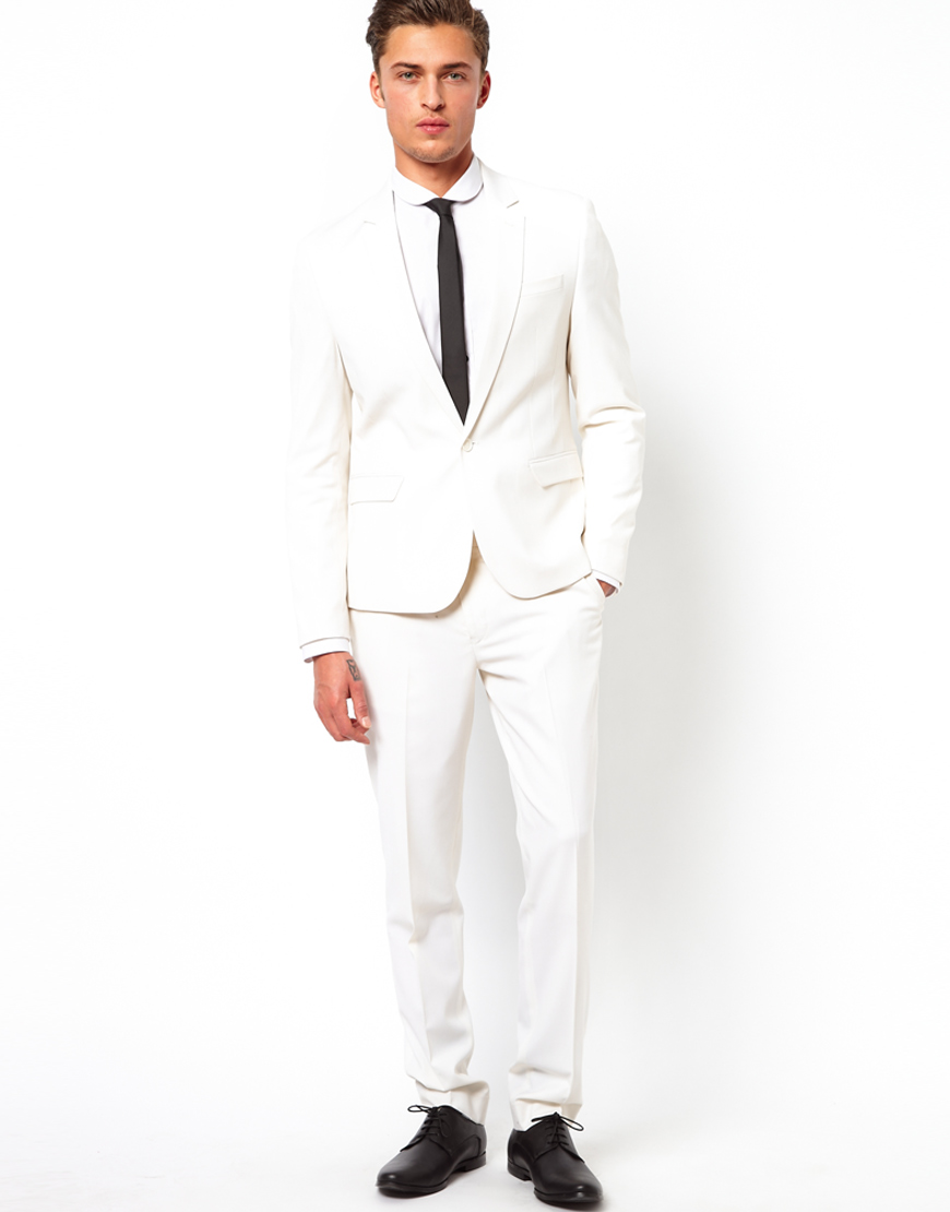 Buy River Island Men's White Skinny Suit Jacket. Similar products also available. SALE now on!Price: $
