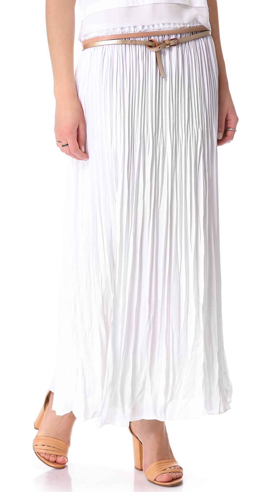 e00aeeefa6e0 Pleated Maxi Skirt Shopstyle