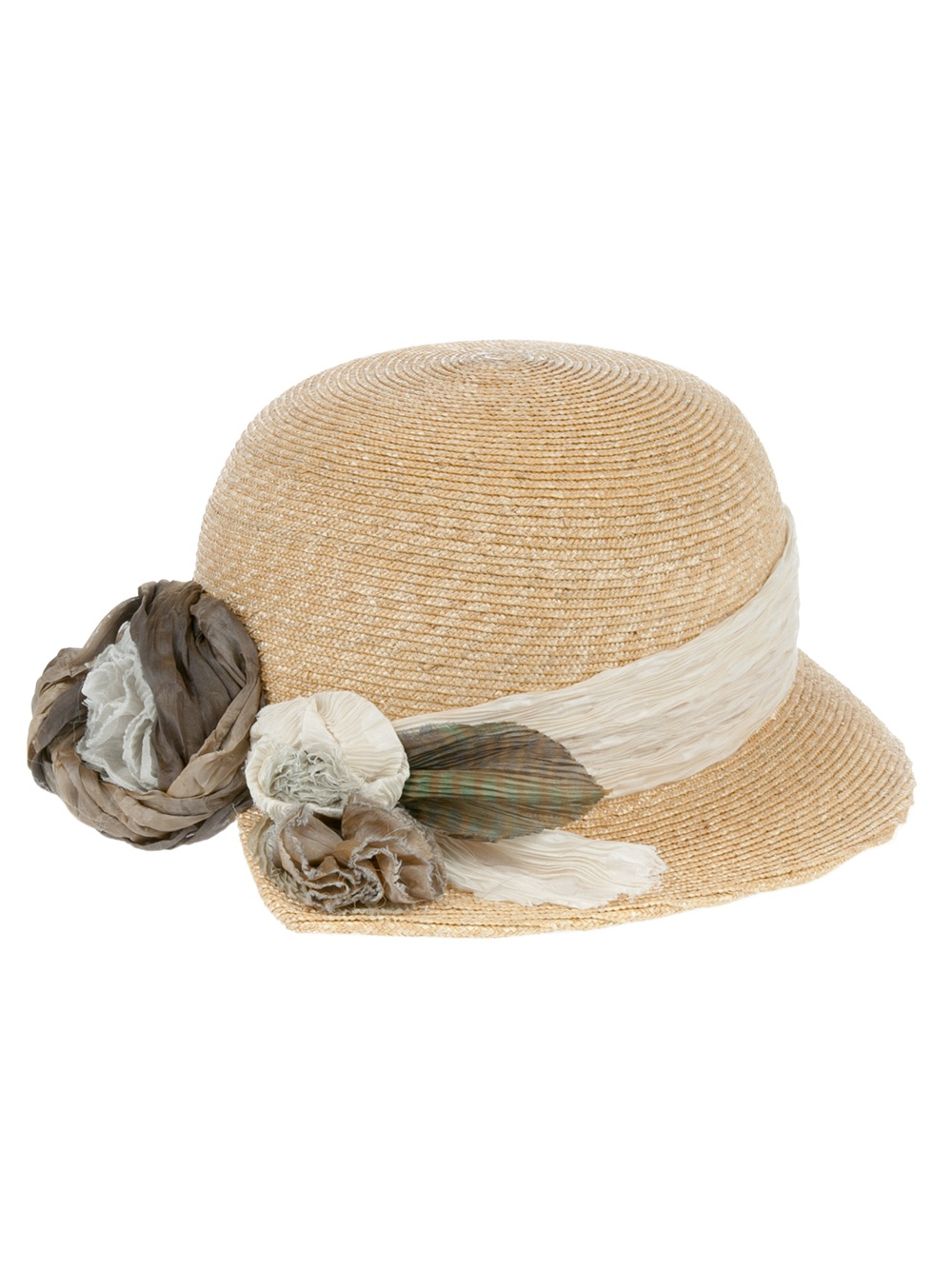 Lyst - Grevi Summer Hat in Natural 56b05f05b62