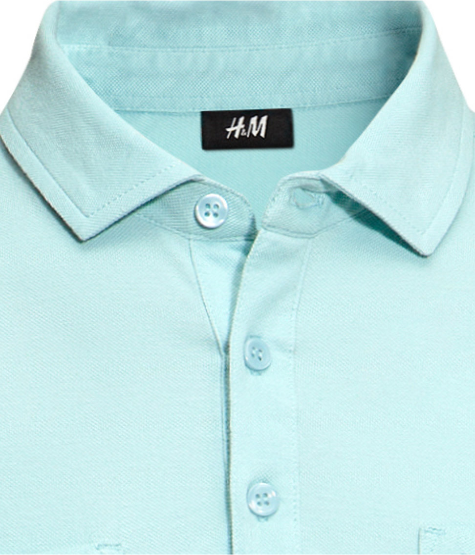 H m polo shirt in green for men lyst for H m polo shirt mens