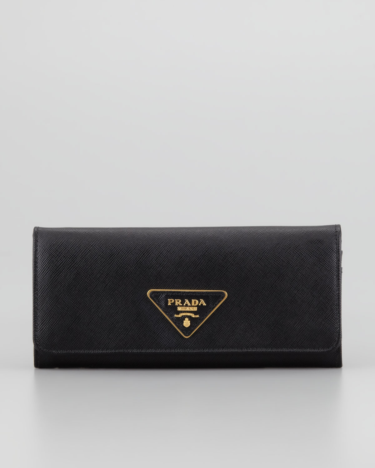 Black continental wallet Prada sNG4LY4Xc0