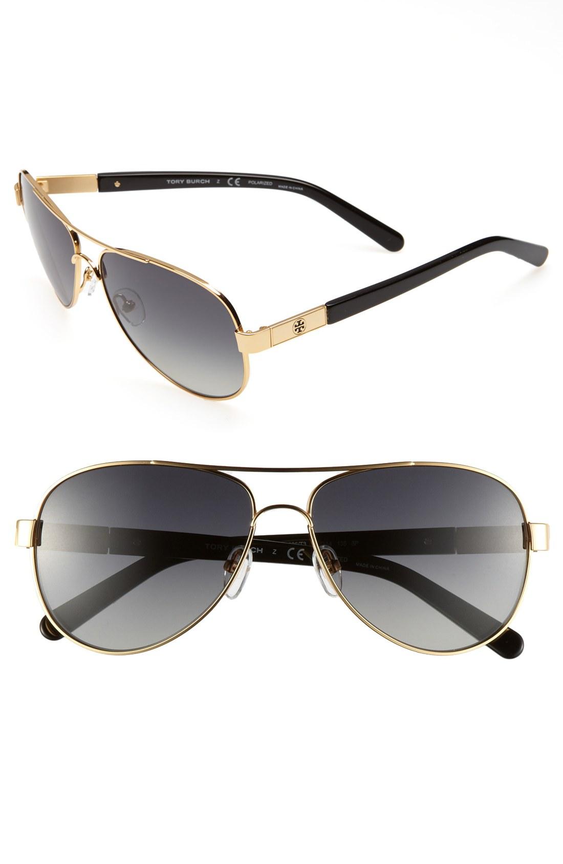 Tory Burch Polarized Cat Eye Sunglasses