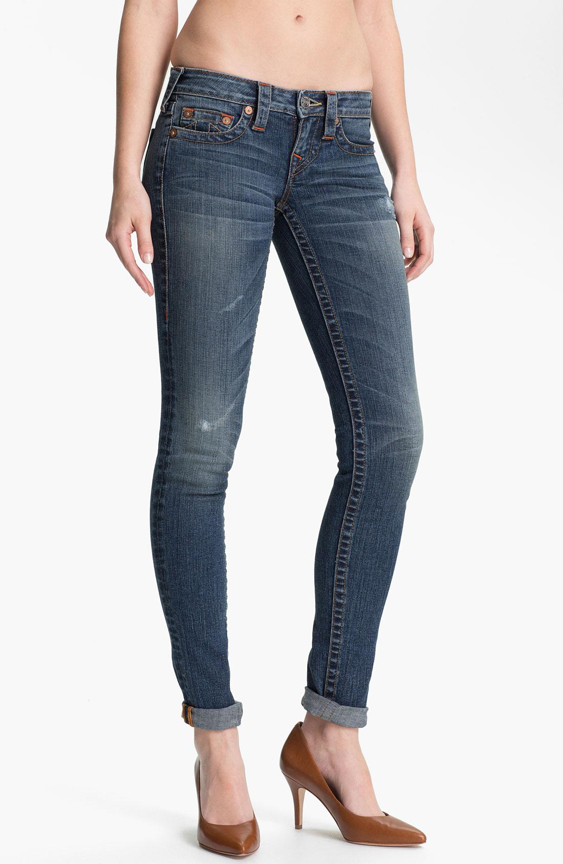true religion stella skinny stretch jeans hillsboro in. Black Bedroom Furniture Sets. Home Design Ideas