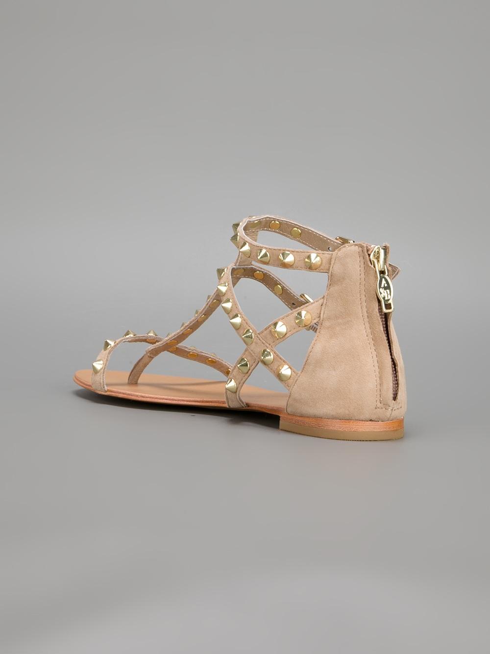 Ash Malibu Sandal In Natural - Lyst-3300