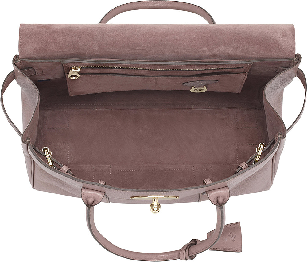... bags discount big discount on 71509 4cd60  switzerland mulberry  bayswater glossy goat leather handbag in pink lyst 4b2f0 e895e 96335a8cec7e3