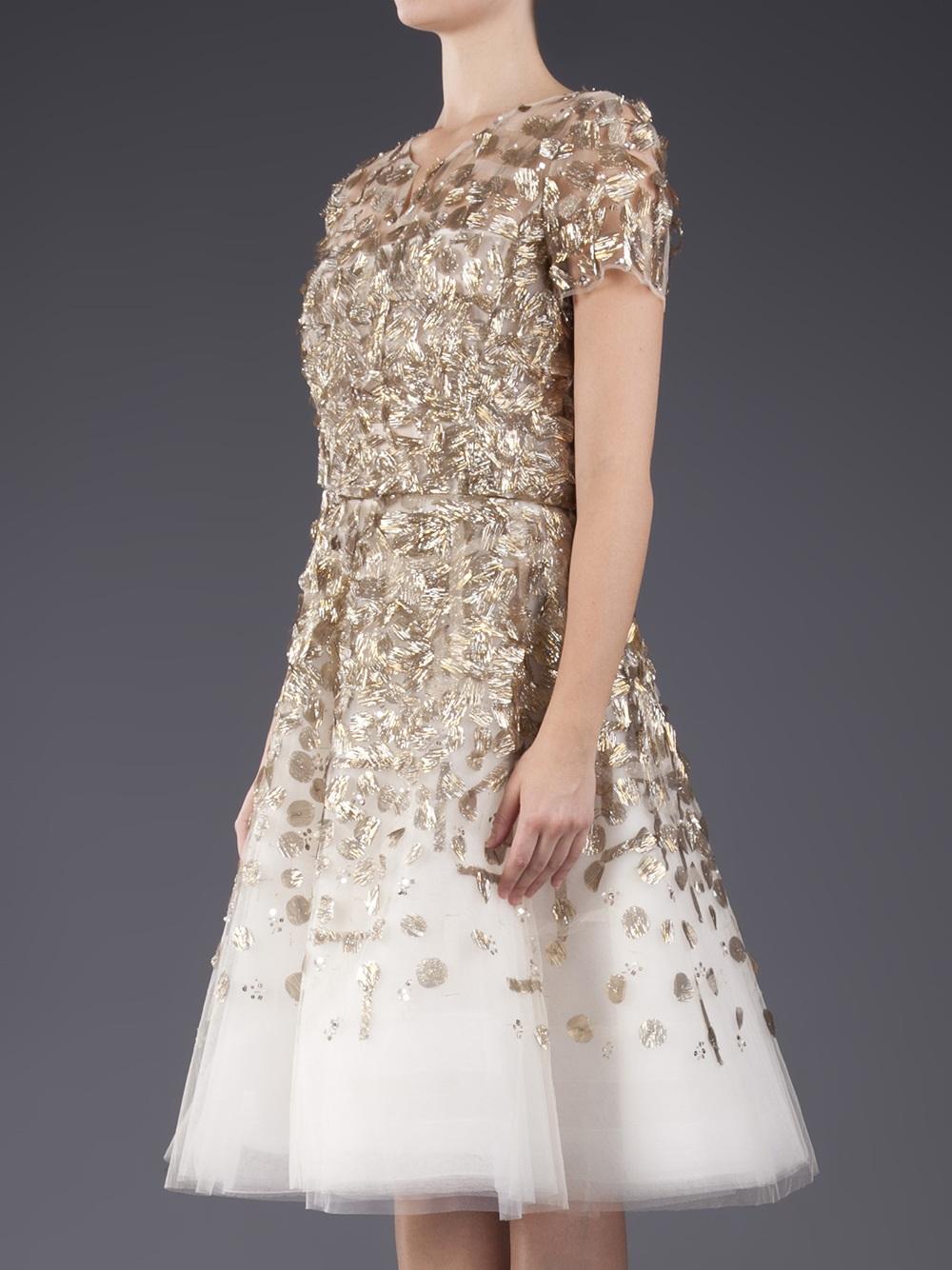 Embellished Tail Dress