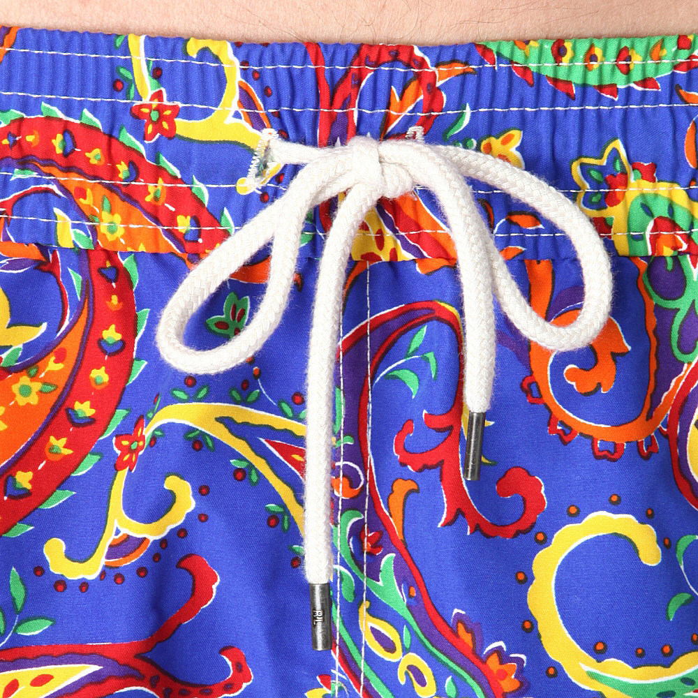 6ba127cbed ... promo code ralph lauren traveler paisley swim shorts for men lyst 7ddaf  0eb33