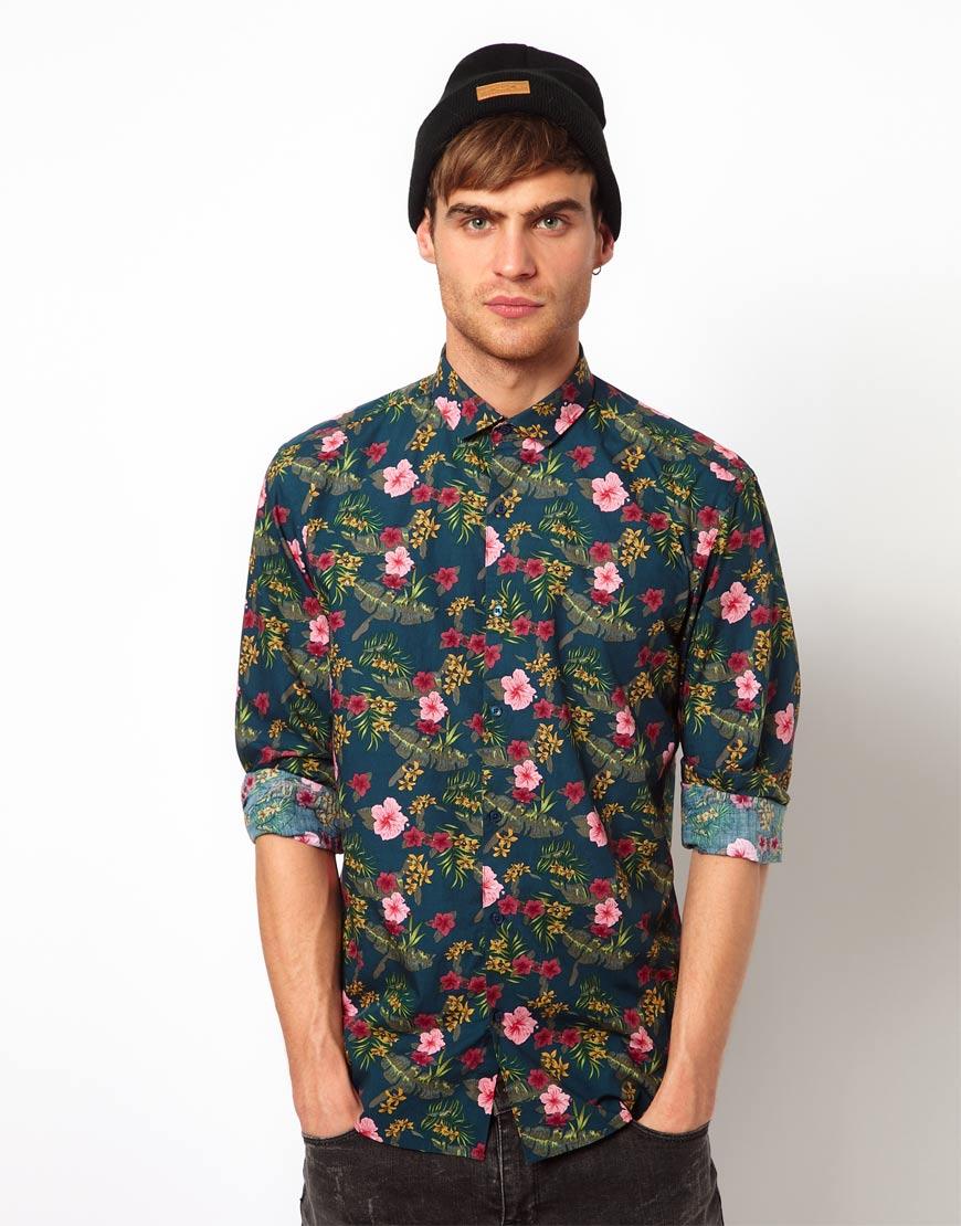 Camisas exclusivas de Flores Moon & Rain en México por