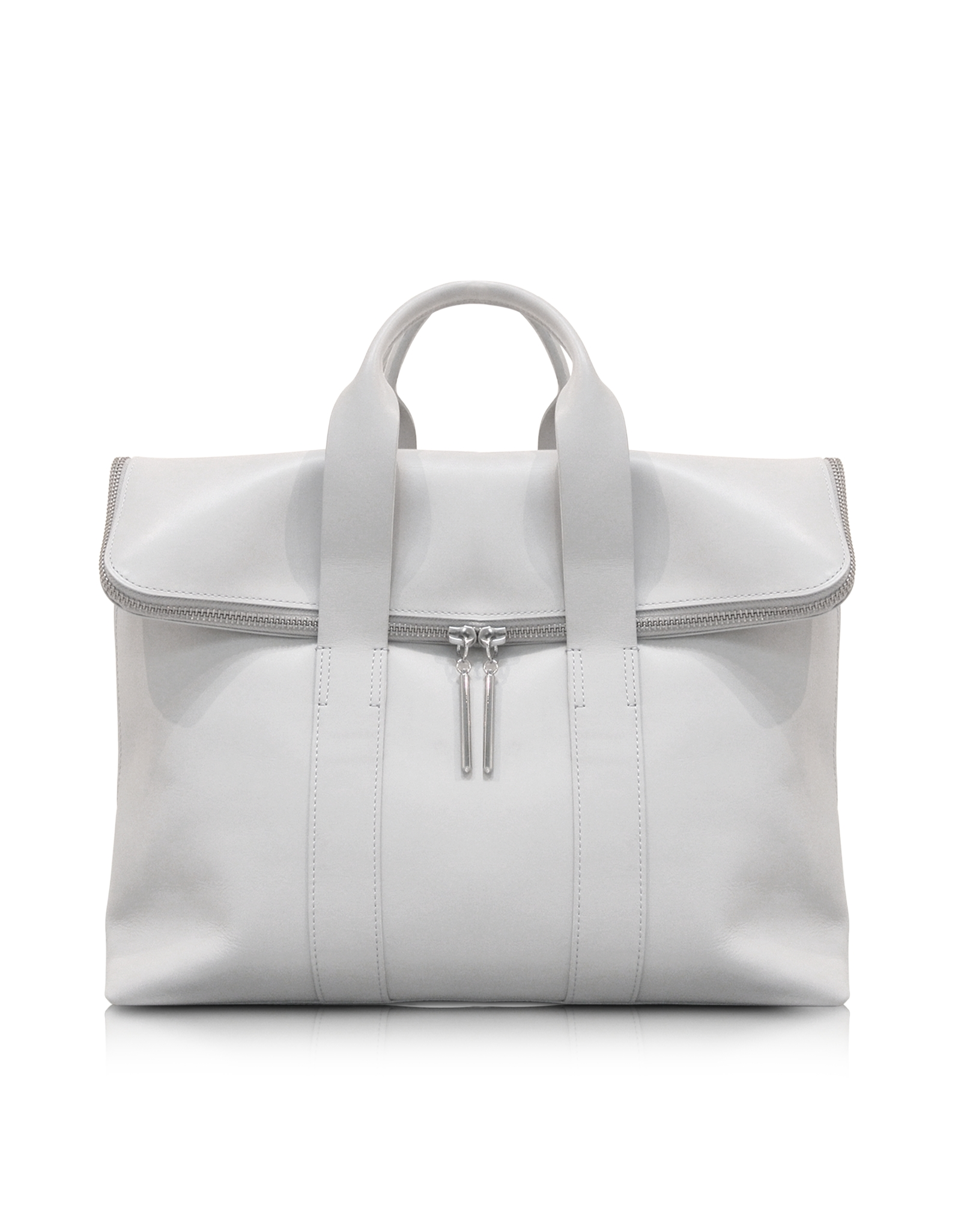 3 1 Phillip Lim 31 Hour Bag Light Gray Leather Tote In
