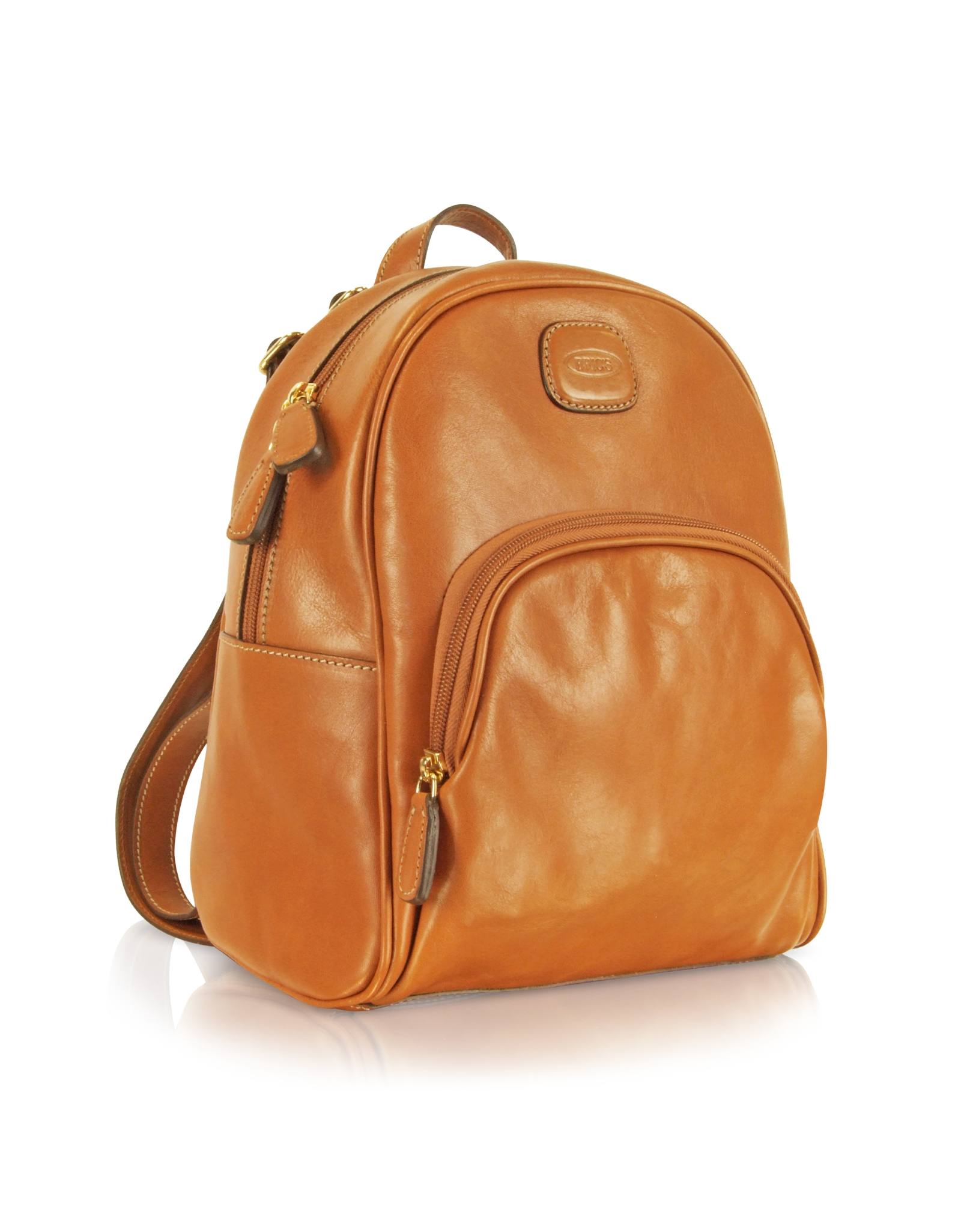 Lyst - Bric's Life Leather - Genuine Leather Backpack in Brown