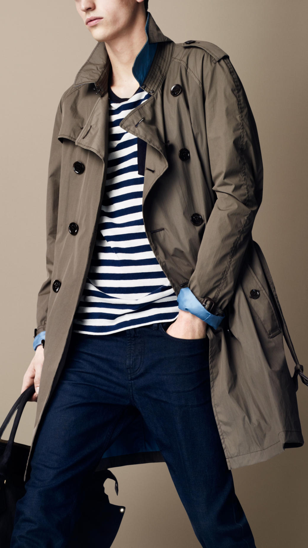 burberry lined trench coat tradingbasis