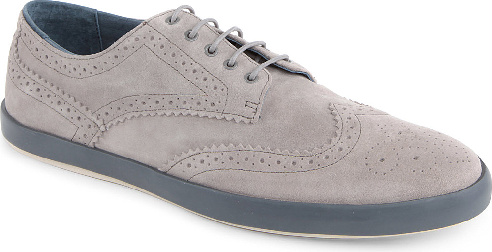 Camper Eric Suede Oxford Trainers in Grey (Grey) for Men