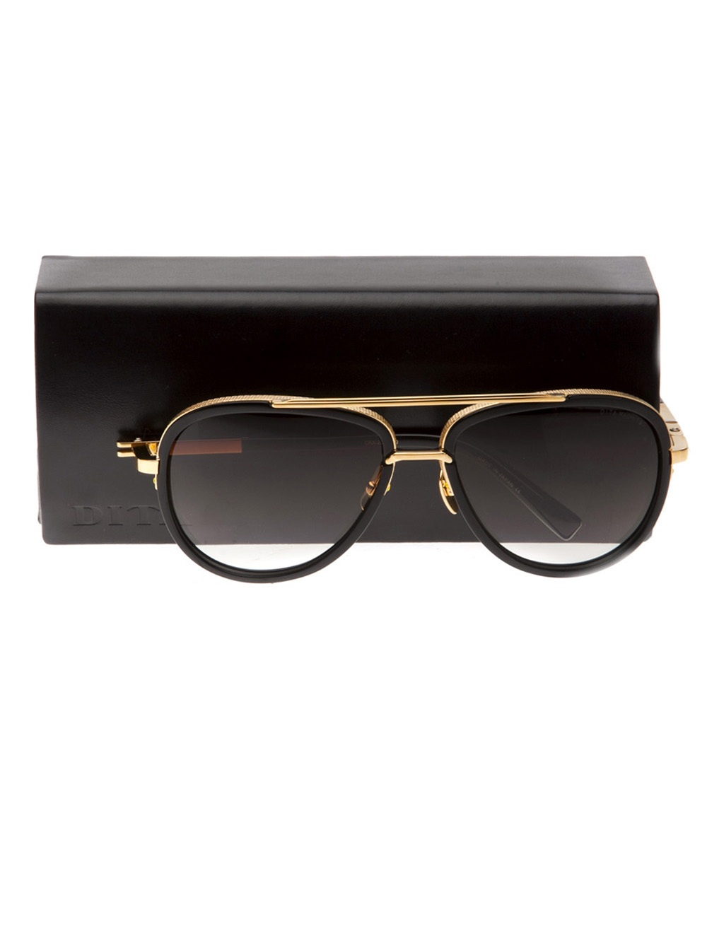 Dita Eyewear Mach Two Sunglasses in Gold (Metallic) for Men