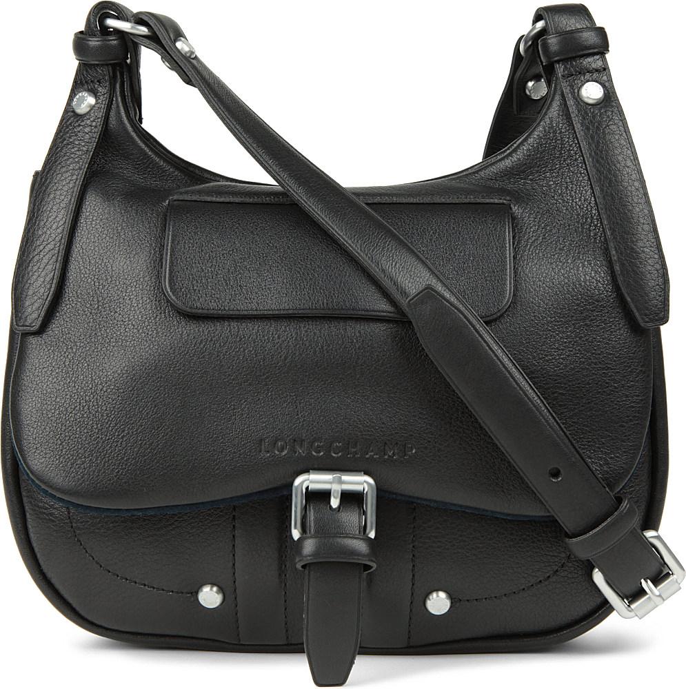 bbf421cf612 Longchamp Balzane Cross-body Bag in Black - Lyst