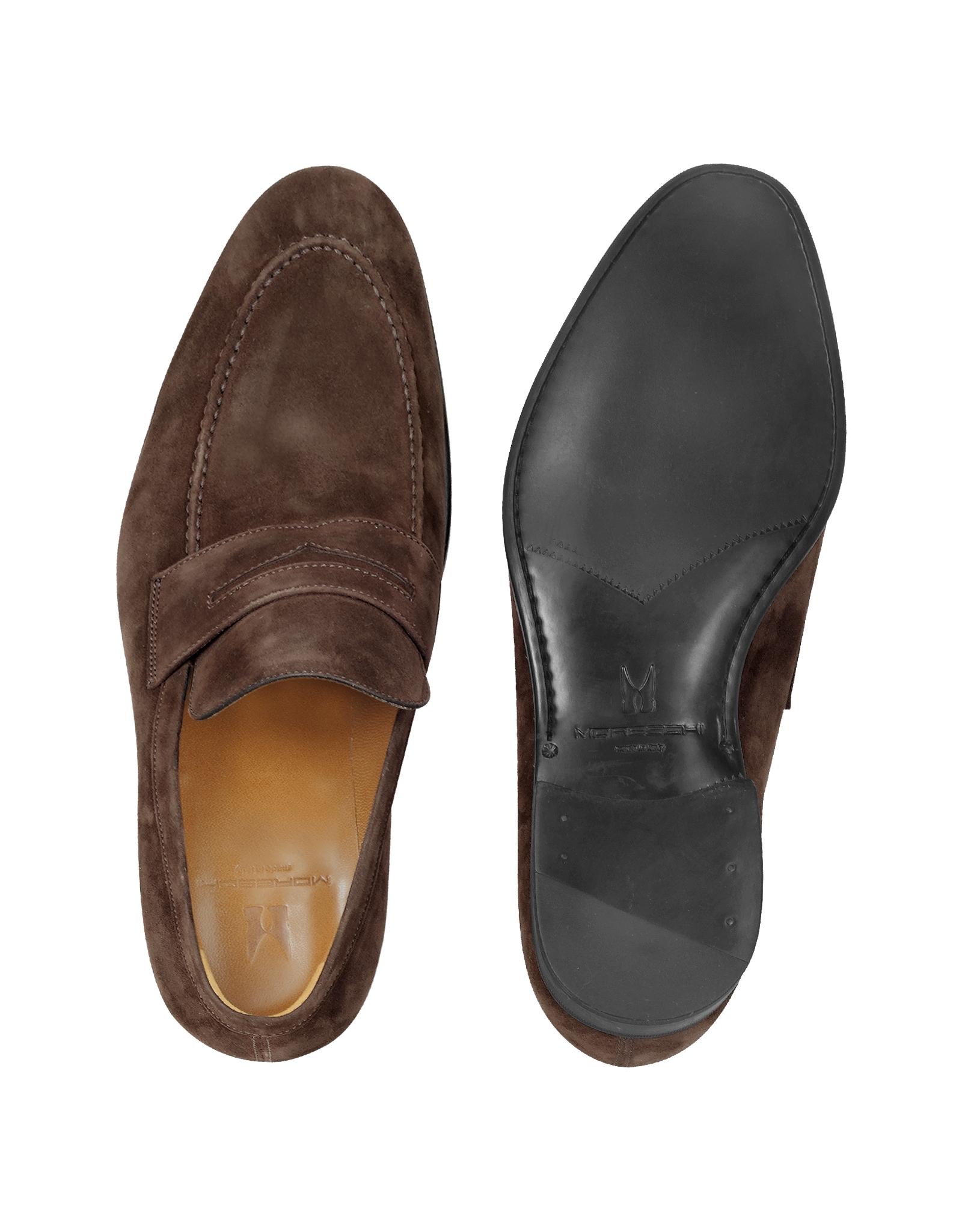 Moreschi Izmir Brown Suede Loafers Lyst