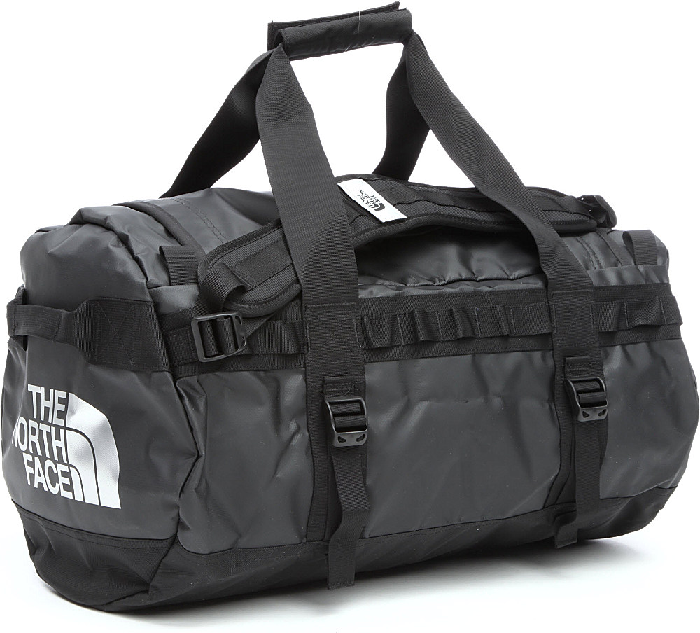 The North Face Base Camp Small Duffel Bag In Black For Men