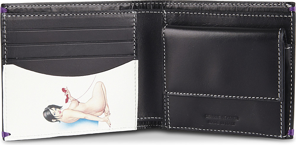 paul smith naked wallet