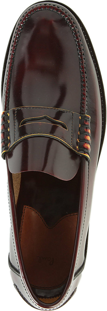 Paul Smith Tubbs Penny Loafers in Brown for Men