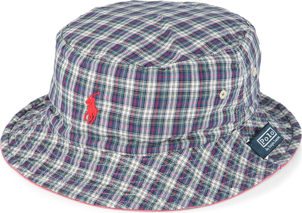 db7f0694b3f Ralph Lauren Reversible Beachside Bucket Hat in Red for Men - Lyst
