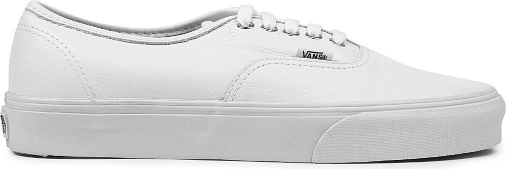 Vans Authentic Leather Trainers in White for Men - Lyst f4a451d05a