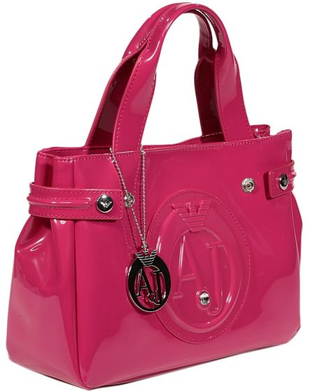 Bag in Pink Fuxia Armani