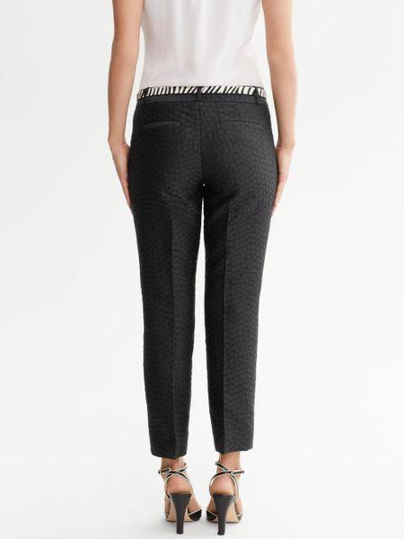 Banana Republic Hampton Fit Black Crop Pants in Black